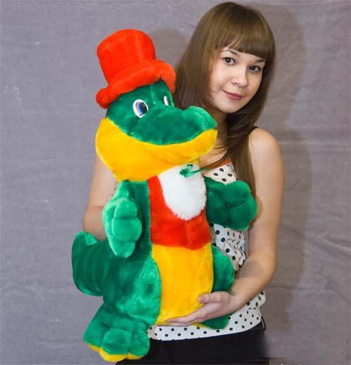 Крокодил Гена СтандартныйМягкие игрушки<br>Размер: Стандартный<br><br>Высота: 23<br>Размер RU: Стандартный