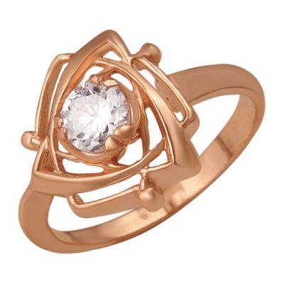 Кольцо серебряное 2381661Серебряные кольца<br>Вес  4,28<br>Вставка  Фианит;<br>Покрытие  золочение Размер: 18.5<br><br>Высота: 3<br>Размер RU: 18.5