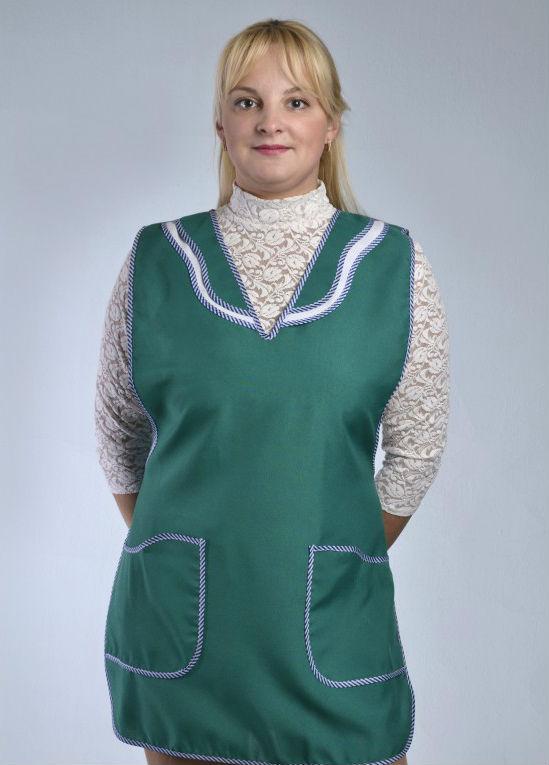 Фартук для продавца ПрасковьяДля работников торговли<br>Ткань - габардин<br>Цвет - василек, бардо, т.синий, красный, зеленый Размер: 44<br><br>Принадлежность: Женская одежда<br>Основной материал: Габардин<br>Вид товара: Одежда<br>Материал: Габардин<br>Состав: 100% полиэстер<br>Длина: 18<br>Ширина: 12<br>Высота: 7<br>Размер RU: 44