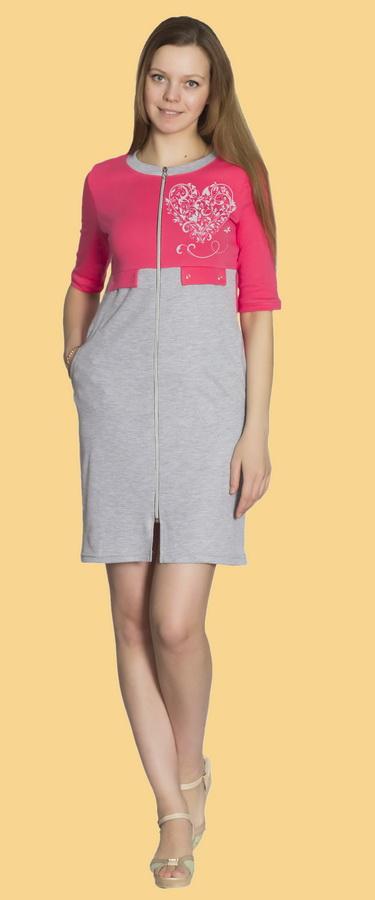 Халат женский ВассаЛегкие халаты<br>Размер: 56<br><br>Принадлежность: Женская одежда<br>Основной материал: Кулирка<br>Вид товара: Одежда<br>Материал: Кулирка<br>Длина рукава: Короткий<br>Длина: 19<br>Ширина: 17<br>Высота: 7<br>Размер RU: 56