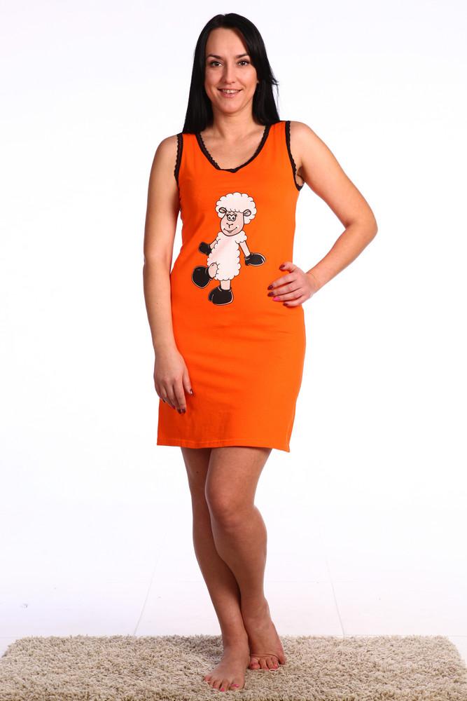 Ночная сорочка Веселая овечкаСорочки и ночные рубашки<br>Размер: 54<br><br>Высота: 7<br>Размер RU: 54