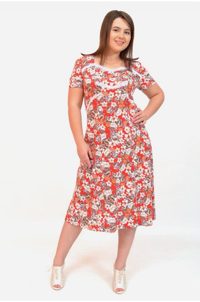 Платье женское ГульнараПлатья<br>Размер: 52<br><br>Высота: 7<br>Размер RU: 52