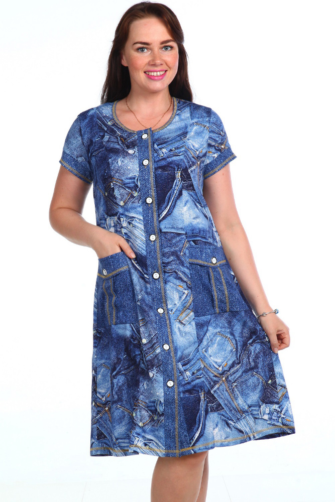 Халат женский НеридаЛегкие халаты<br>Размер: 54<br><br>Высота: 9<br>Размер RU: 54