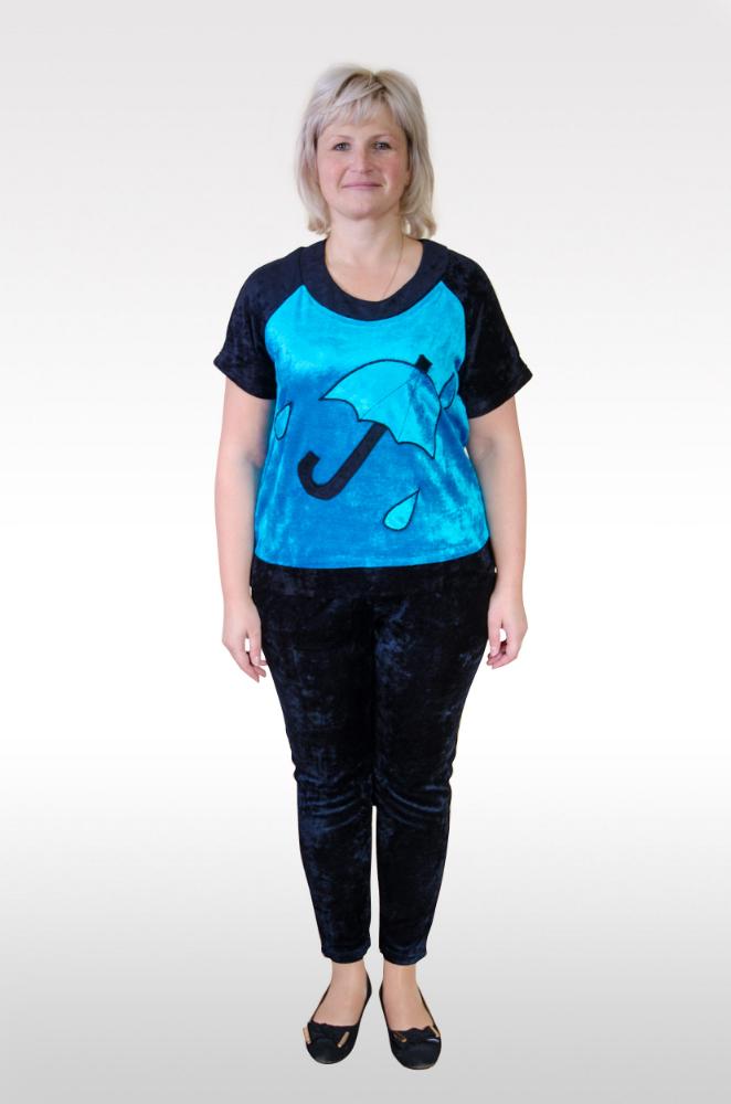 Костюм женский ЗонтикЗимние костюмы<br>Размер: 46<br><br>Высота: 7<br>Размер RU: 46