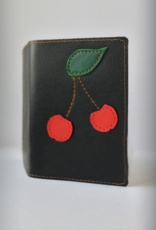 """Обложка для паспорта """"Вишни"""""""