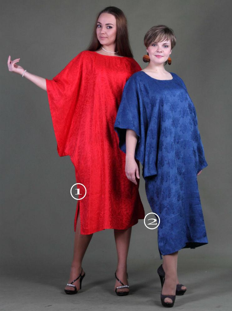 """Платье льняное свободного кроя """"Оливия"""" Безразмерный от Grandstock"""