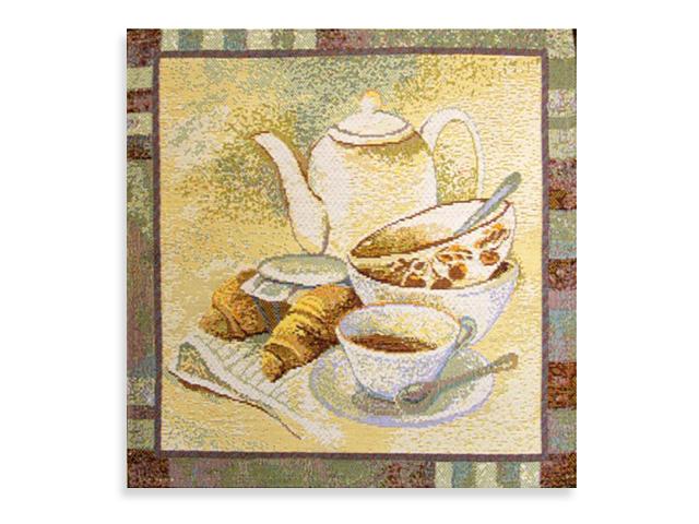 "Салфетка гобеленовая ""Английский чай"" 32х32"