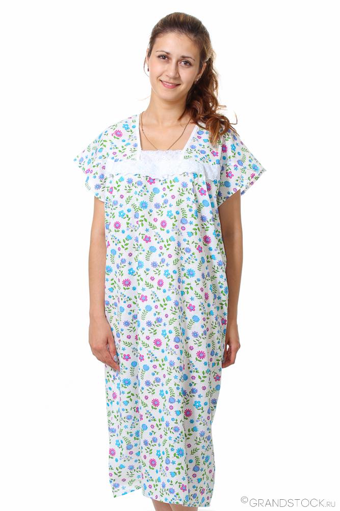 Ночная сорочка ФрезияСорочки и ночные рубашки<br>Размер: 50<br><br>Высота: 7<br>Размер RU: 50