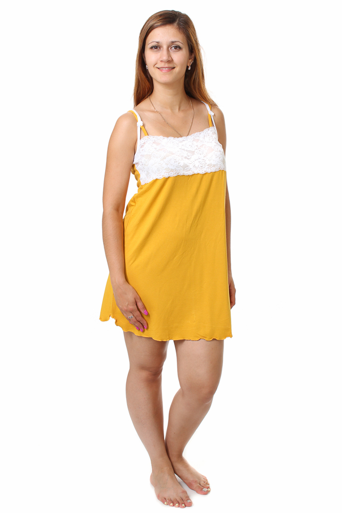 Ночная сорочка ЭльзаСорочки и ночные рубашки<br>Идеальная одежда для сна должна соответствовать массе критериев. Красота, простота, удобство, практичность - все это про комфортную и просторную ночную сорочку Эльза!<br>Для пошива - вискоза. В основе - целлюлозное волокно. Несмотря на синтетическое происхождение, ткани свойственны все преимущества натуральных аналогов: легкость, воздушность, воздухопроницаемость, гигроскопичность и естественная, здоровая терморегуляция.<br>Обширный ассортимент позволяет подобрать идеальный оттенок или поэкспериментировать с чем-то новым. Тело дышит в одежде из вискозы. Сорочки Эльза представлены в разных размерах.  Размер: 48<br><br>Принадлежность: Женская одежда<br>Основной материал: Вискоза<br>Страна - производитель ткани: Россия, г. Иваново<br>Вид товара: Одежда<br>Материал: Вискоза<br>Длина рукава: Без рукава<br>Длина: 18<br>Ширина: 13<br>Высота: 7<br>Размер RU: 48