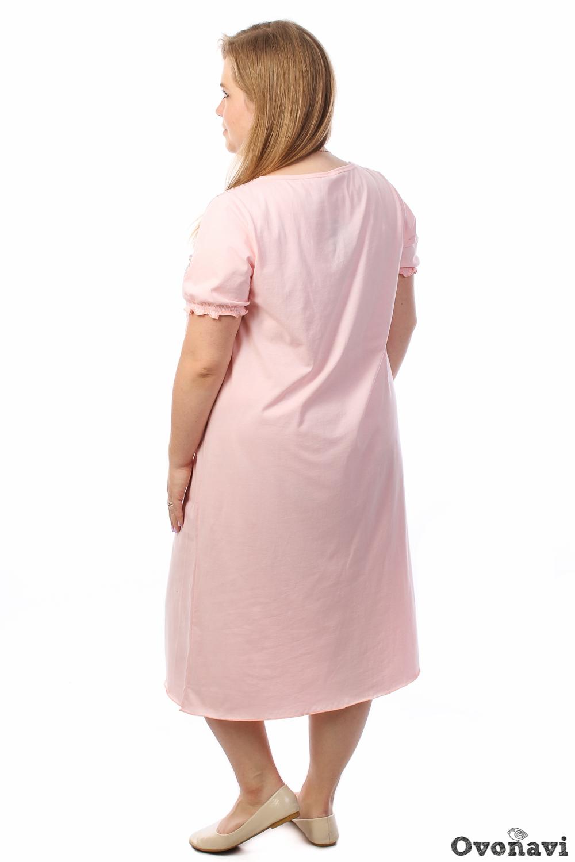 Ночная сорочка ПенелопаСорочки и ночные рубашки<br>Цветочный дизайн всегда придавал одежде оттенок женственности, нежности и элегантности. И женская ночная сорочка Пенелопа, которую мы хотим представить вашему вниманию, не является исключением. Выполненная из натурального стопроцентного хлопка, она абсолютно безвредна вашей коже. А укороченный свободный фасон даст вашим движениям во время сна полную свободу. Модель украшена вырезом в стиле каре с кружевом и закругленным низом. И, конечно же, нежный цветочный принт, который придает модели женственности и элегантности. Если у вас до сих пор остаются сомнения, то посмотрите на цену модели - и они вмиг исчезнут! Размер: 54<br><br>Высота: 7<br>Размер RU: 54