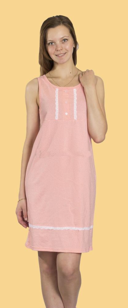 Ночная сорочка ИрэнаСорочки и ночные рубашки<br>Размер: 52<br><br>Высота: 7<br>Размер RU: 52