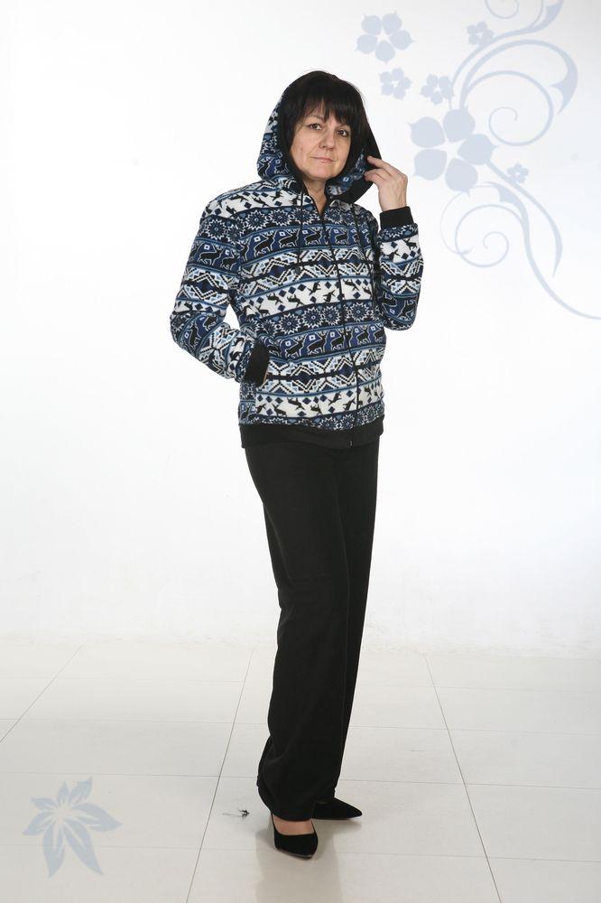 Костюм женский ТроянаЗимние костюмы<br>Костюм женский Трояна из флиса. Флисовый материал обладает хорошими дышащими свойствами, не вызывает аллергии, за ним просто ухаживать. Комплект состоит из кофты и брюк. Кофта с капюшоном на молнии с боковыми карманами. Низ изделия, рукавов и капюшона обработаны манжетом. В капюшон вдет шнур. Брюки однотонные на резинке. Низ брюк обработан плоскошовкой. Расцветки представлены в ассортименте. Покупка женской одежды через интернет выгодна еще и потому, что интернет-магазин предлагает наличие большого размерного ряда.<br>Размер: 42-60 Размер: 58<br><br>Принадлежность: Женская одежда<br>Комплектация: Брюки, толстовка<br>Основной материал: Флис<br>Страна - производитель ткани: Россия, г. Иваново<br>Вид товара: Одежда<br>Материал: Флис<br>Сезон: Зима<br>Тип застежки: Молния<br>Состав: 100% полиэстер<br>Длина рукава: Длинный<br>Длина: 30<br>Ширина: 20<br>Высота: 11<br>Размер RU: 58