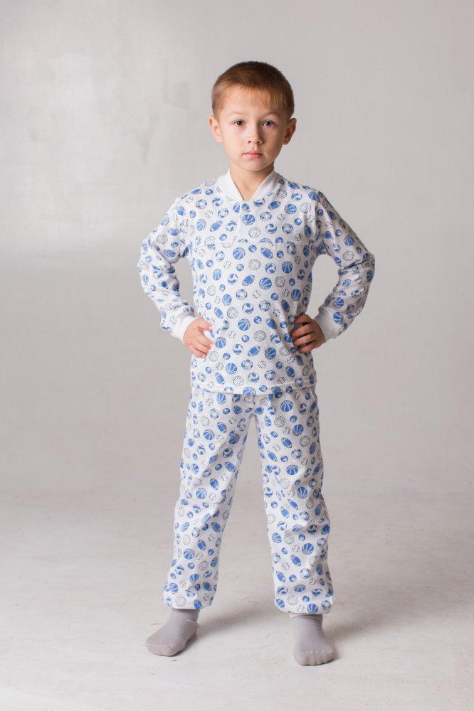 "Пижама детская ""Клёпа"" (кулирка) от Grandstock"