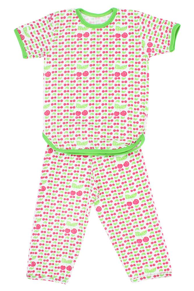 Пижама ВишенкаПижамы<br>Размер: 36<br><br>Производство: Снят с производства/закупки<br>Принадлежность: Детская одежда<br>Комплектация: Брюки, футболка<br>Возраст: Младший школьный возраст (7-10 лет)<br>Пол: Унисекс<br>Основной материал: Кулирка<br>Страна - производитель ткани: Россия, г. Иваново<br>Вид товара: Детская одежда<br>Материал: Кулирка<br>Длина: 18<br>Ширина: 12<br>Высота: 7<br>Размер RU: 36