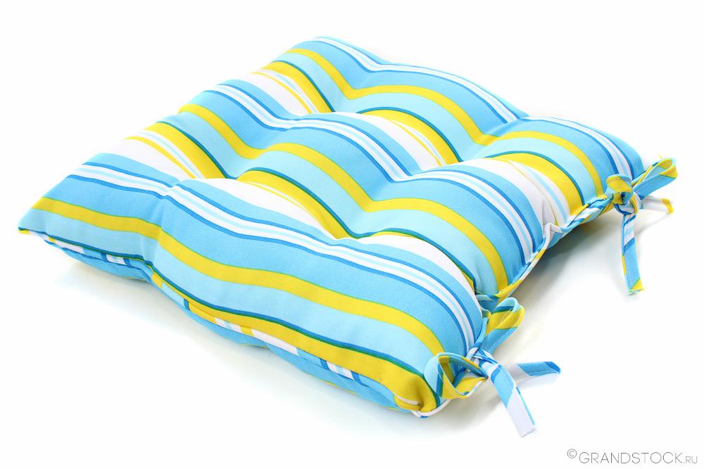 """Подушка для стульев """"Полоса"""" 40*40"""