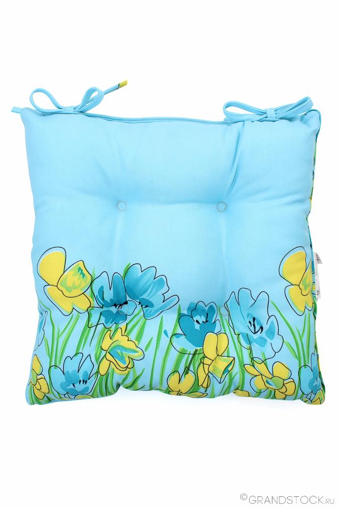"Подушка для стульев ""Весна"" 40*40"