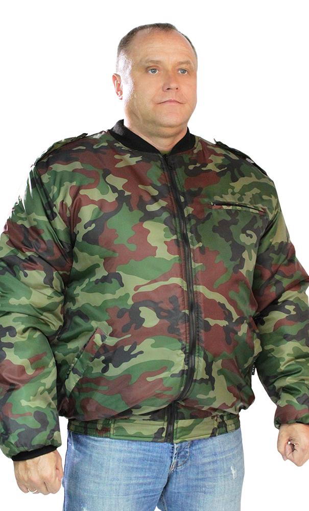 Ветровка Пилот (зеленый КМФ)Для прочих профессий<br>Размер: 48-50<br><br>Принадлежность: Мужская одежда<br>Основной материал: Смесовые ткани<br>Вид товара: Одежда<br>Материал: Смесовые ткани<br>Длина: 27<br>Ширина: 25<br>Высота: 8<br>Размер RU: 48-50