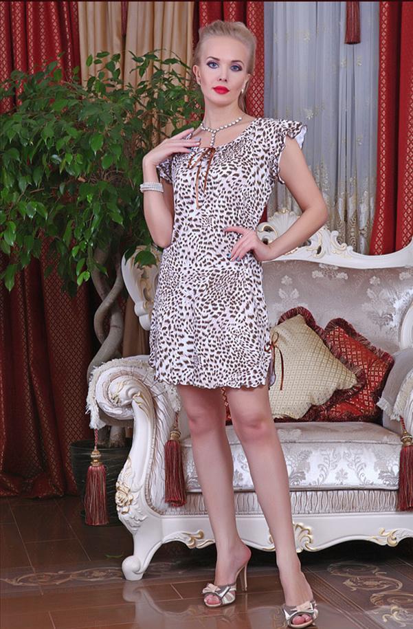 леопард коричневый